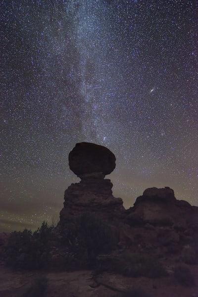 Galactic Balancing Act Photography Art | Nicholas Jensen Photography