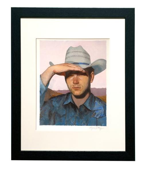 Cowboy Squints In The Sun Art | Kym Day Studio
