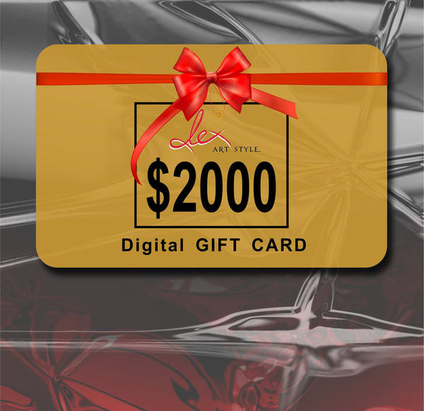 $2000 gift card