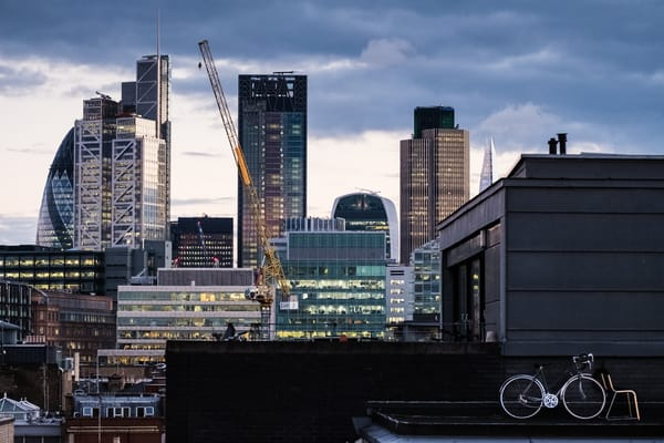 East London Rooftop View