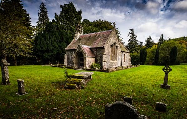 Dawyck Stone Chapel
