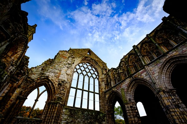 Holyrood Abbey, Edinburgh Scotland