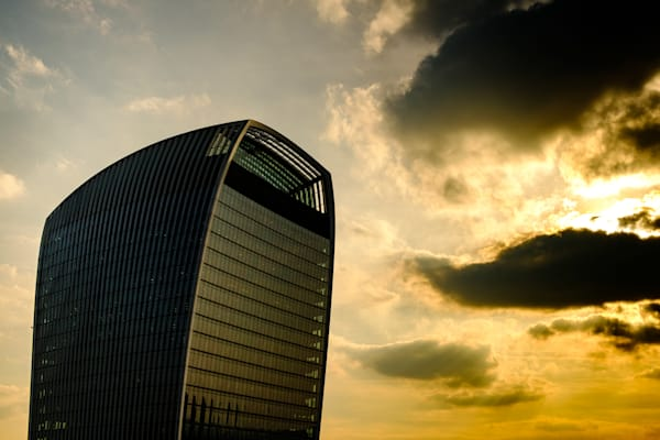 Walkie Talkie Sunset London