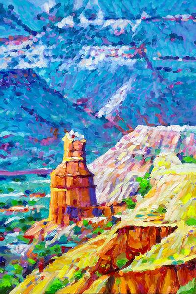 Palo Duro Canyon Lighthouse | Charles Wallis