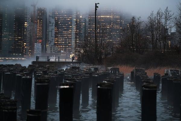 The City Beyond The Stumps Photography Art | LenaDi Photography LLC