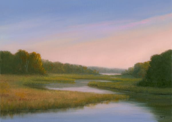 *Autumn Color, Sunrise Over Parker's Stream Art | Tarryl Fine Art
