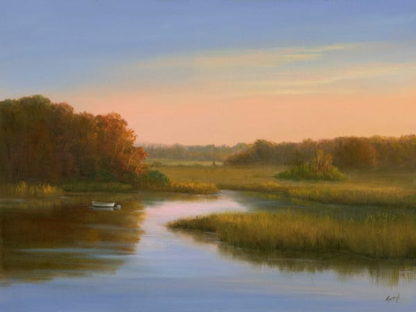 *Sunrise Over Harwich Marsh Art | Tarryl Fine Art