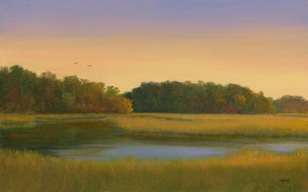 *Sunset Over Harwich Marsh Art | Tarryl Fine Art