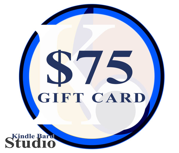 $75 Gift Card | Kindle Bard Studio
