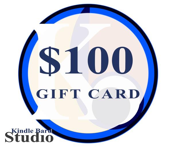 $100 Gift Card | Kindle Bard Studio