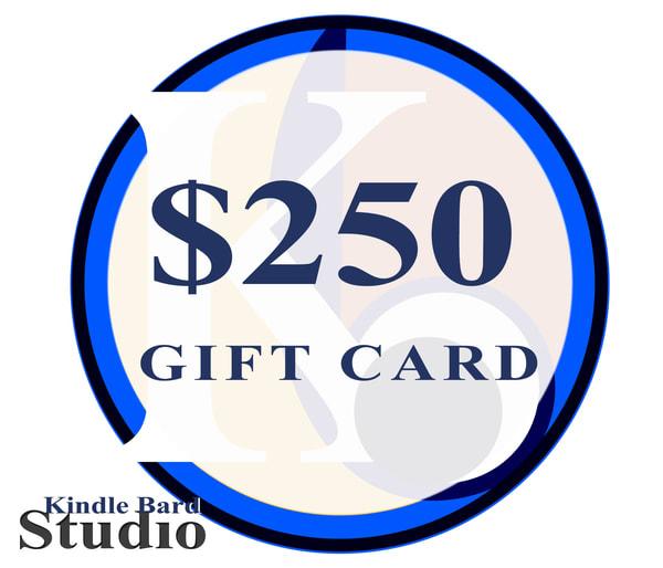 $250 Gift Card | Kindle Bard Studio