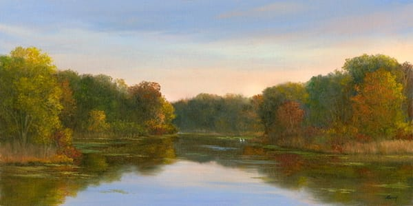 *Sunrise Over Baxter Mill Pond Art | Tarryl Fine Art
