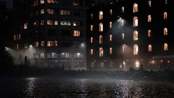 The Building That Never Sleeps Photography Art | LenaDi Photography LLC