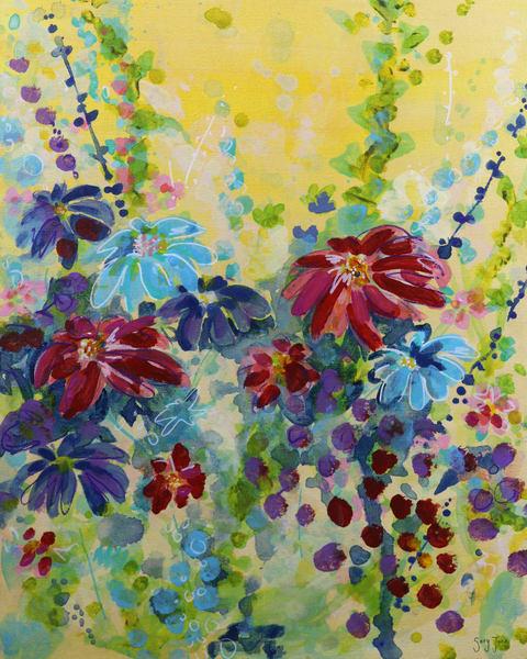 Daisy Daze I Art | Savy Jane Studios