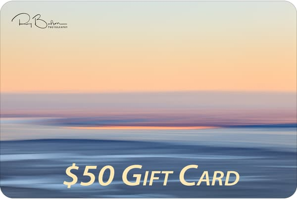 $50 Gift Card | Ray Bulson Photography