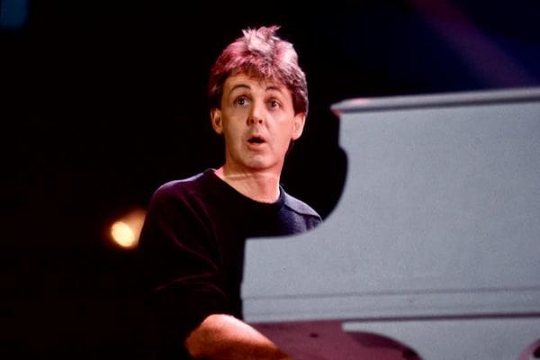Paul McCartney at Live Aid