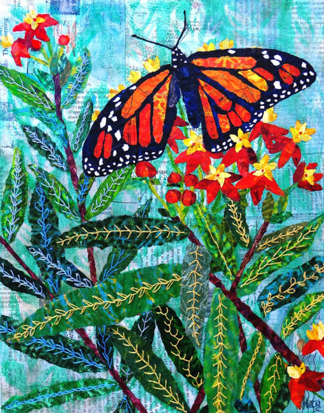 Xena: Warrior Monarch Butterfly Art | Poppyfish Studio