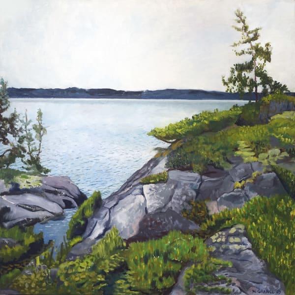 Grey Lake by Mark Granlund