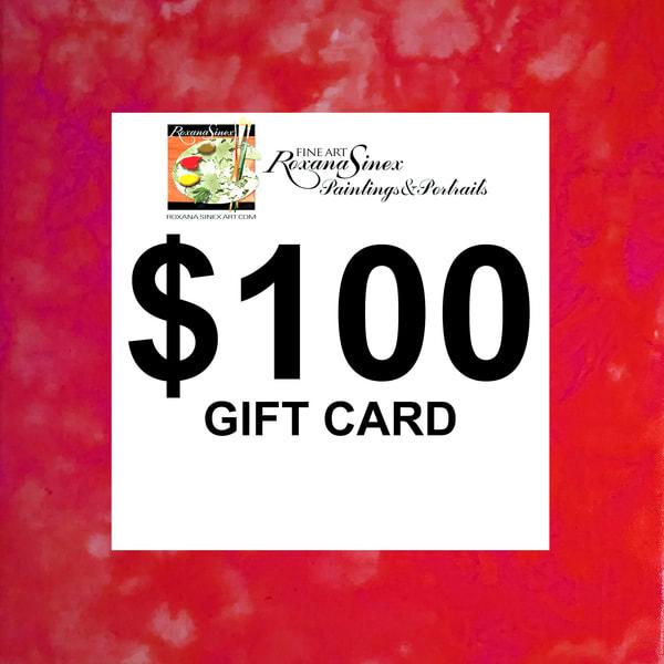 $100 Gift Card | Roxana Sinex Art