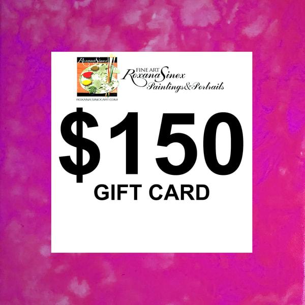 $150 Gift Card | Roxana Sinex Art