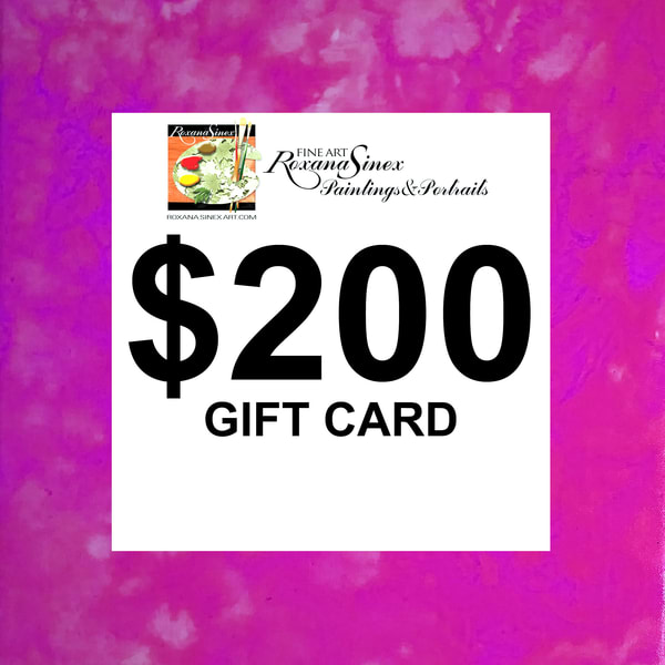 $200 Gift Card | Roxana Sinex Art