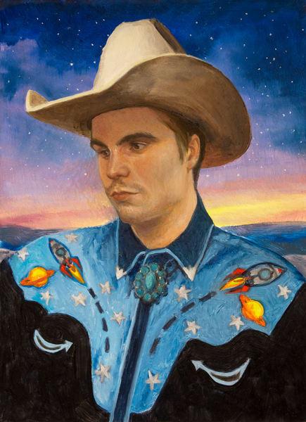Space Cowboy Art   Kym Day Studio