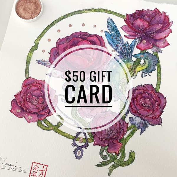 $50 Gift Card | Marian Pham Art LLC