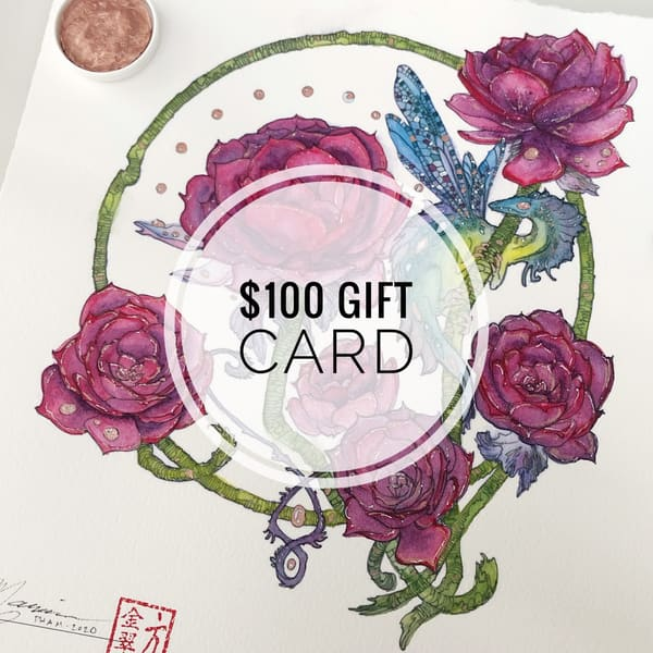 $100 Gift Card | Marian Pham Art LLC