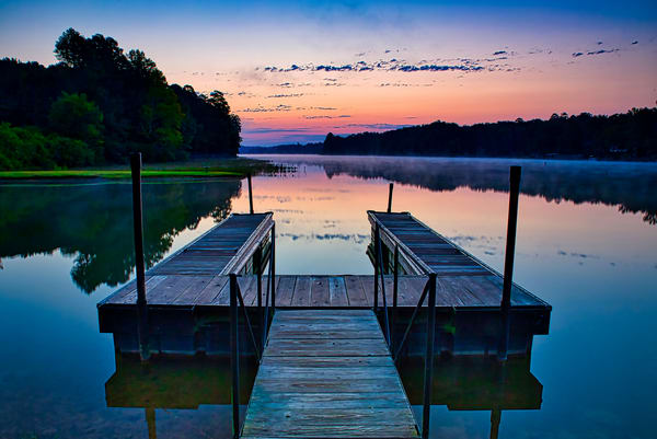 Lake Cortez Dock, Hot Springs Village, Arkansas