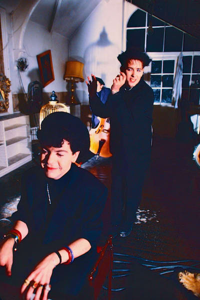 Robert Smith & Lol Tolhurst of The Cure
