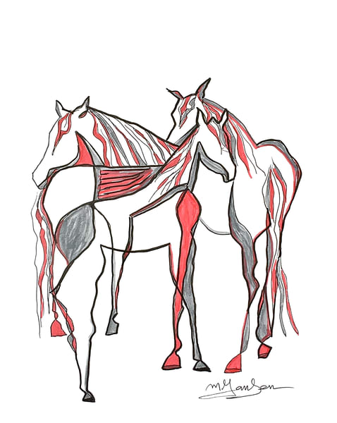 Fine Art Prints   Good Horses Come In Any Color   Micky Jansen
