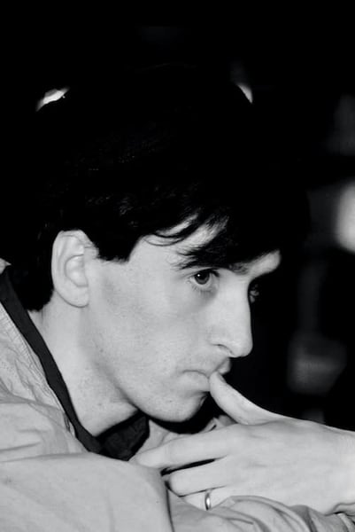 Johnny Marr of The Smiths on the Red Wedge tour