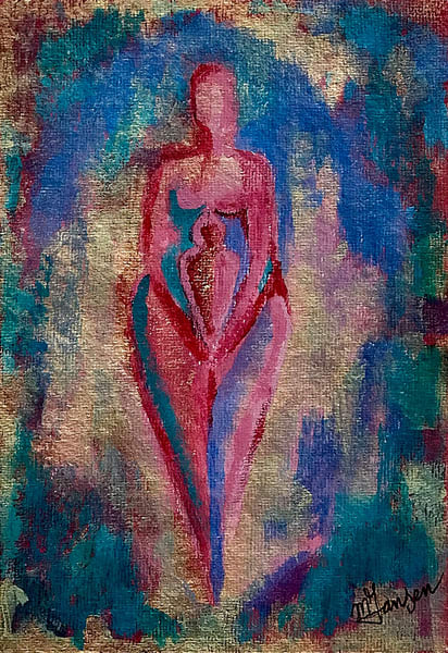 Fine Art Prints | Madonna With Child | Micky Jansen