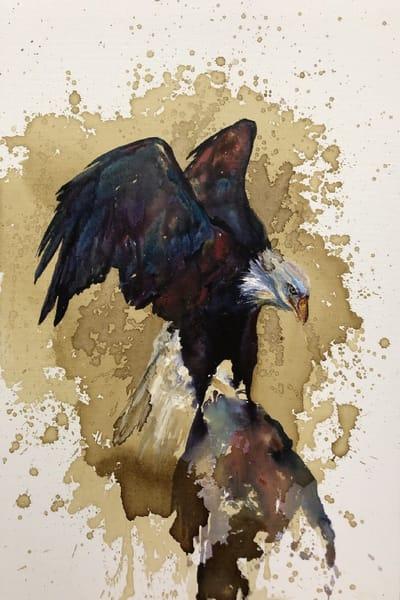 Bald Eagle Original Painting Art | Christy! Studios