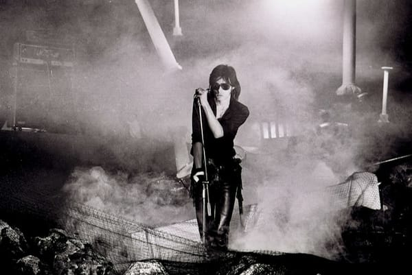 Andrew Eldritch of Sisters of Mercy
