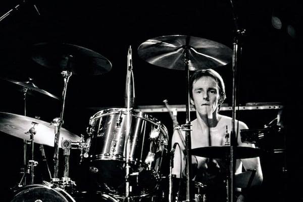 Topper Headon of The Clash