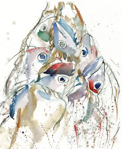 The Catch Art | Patrick Dominguez Art