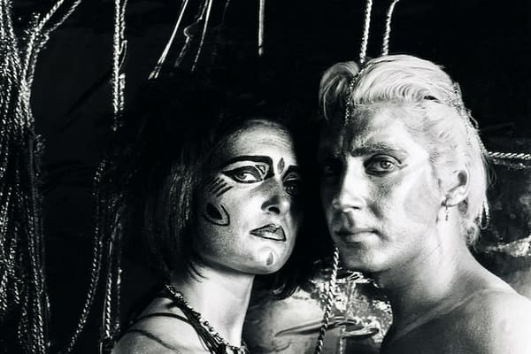 Siouxsie Sioux & Budgie of The Creatures