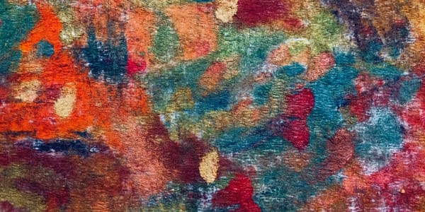 Abstract Inspired By Mississippi Palisades State Park Skinny Horizontal Art | Marie Stephens Art