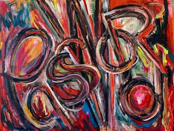 United States, art, fine art, oil, acrylic, abstract, colorful, bob lombardi, pandemic