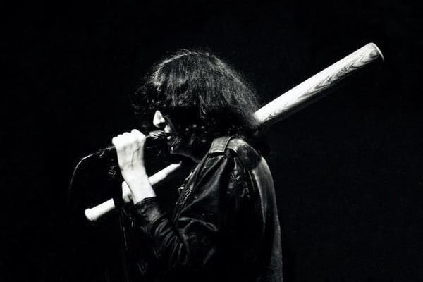 Joey Ramone of The Ramones