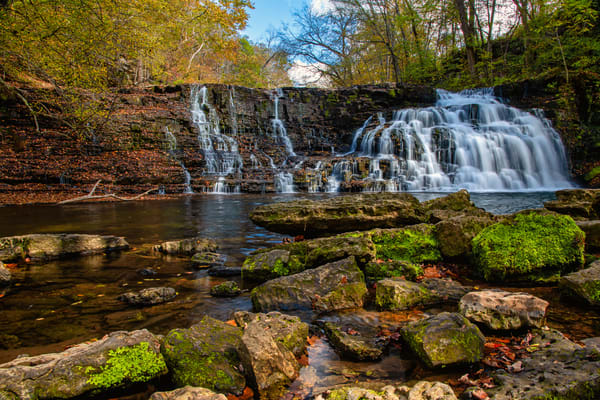 Rutledge Falls - Tennessee waterfalls fine-art photography prints