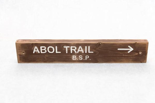 Abol Trail Baxter State Park Trail Sign | http://www.mooseprintsgallery.com