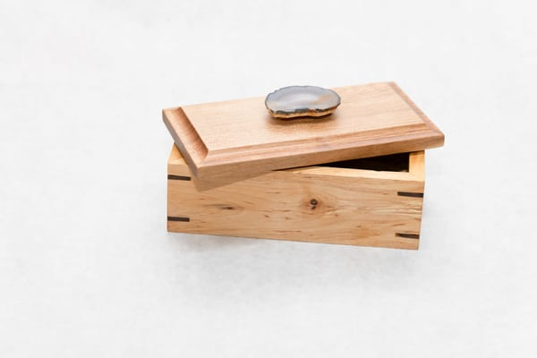 Handcrafted Wooden Box   Small | http://www.mooseprintsgallery.com