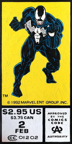 Venom #2 Art | Todd Monk Art