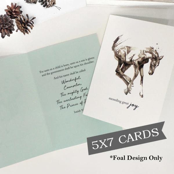 Great Joy Christmas Card