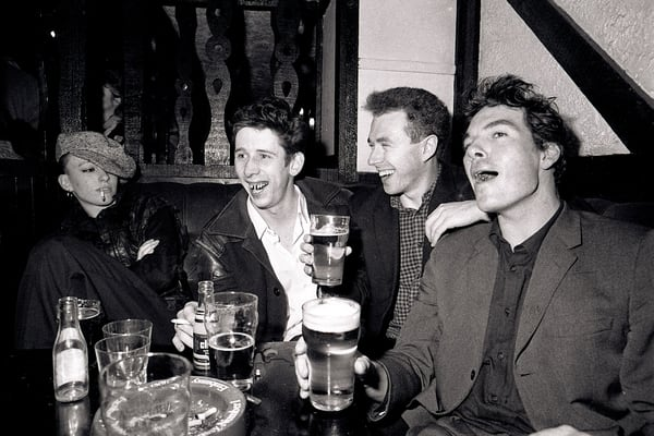 Shane MacGowan and The Pogues