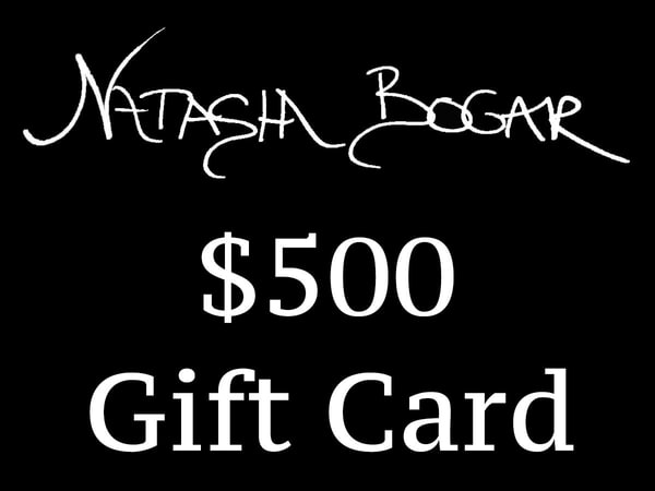 Natasha Bogar Art $500 Gift Card