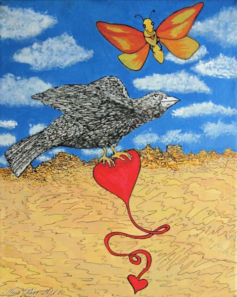 Hearts In Flight Art | Lillith