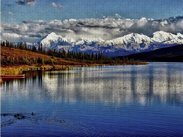 Wonder Lake Jigsaw Puzzle | Shop Photography by Rick Berk
